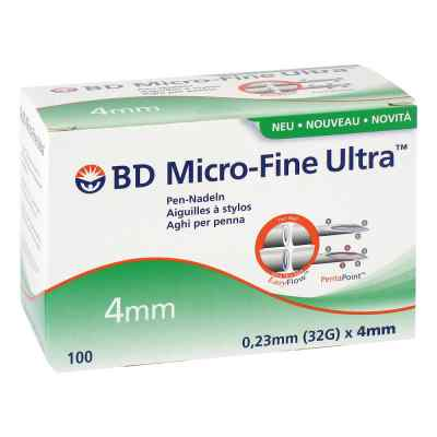 Bd Micro Fine Ultra Pen-nadeln 0,23x4 mm