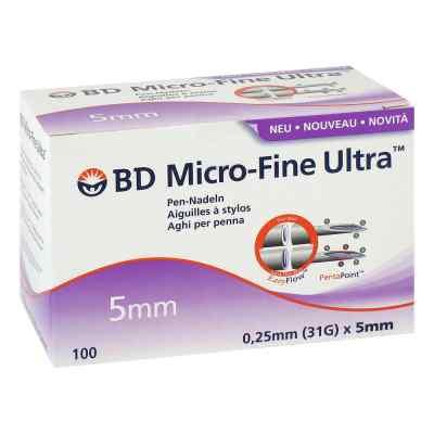 Bd Micro Fine Ultra Pen-nadeln 0,25x5 mm