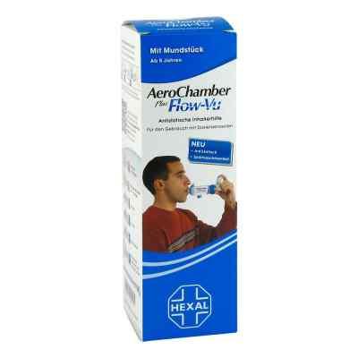 Aerochamber Hexal mit Mundstueck für  Erwachsenen   und  Kinder
