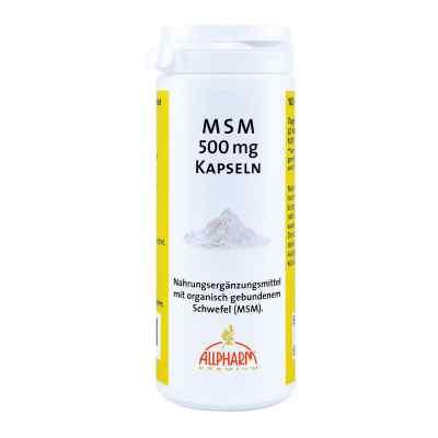 Msm Kapseln 500 mg  zamów na apo-discounter.pl