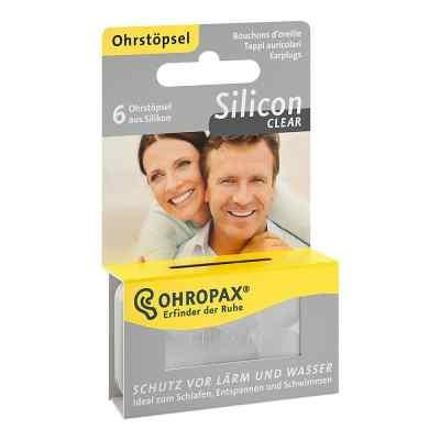 Ohropax Silicon Clear zatyczki do uszu  zamów na apo-discounter.pl