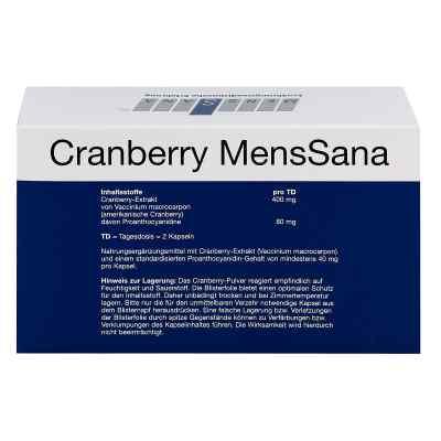 Cranberry Menssana Kapseln  zamów na apo-discounter.pl