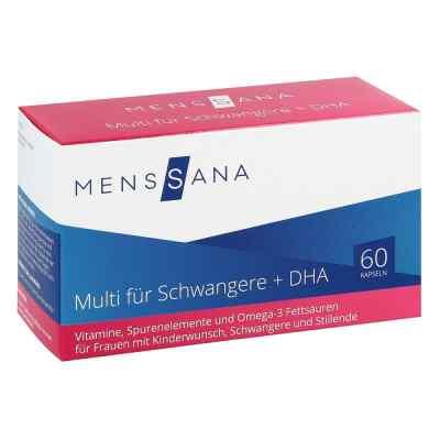 Multi Fuer Schwangere + Dha Menssana Kapseln