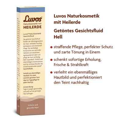 Luvos Naturkosmetik getoentes Gesichtsfluid hell  zamów na apo-discounter.pl