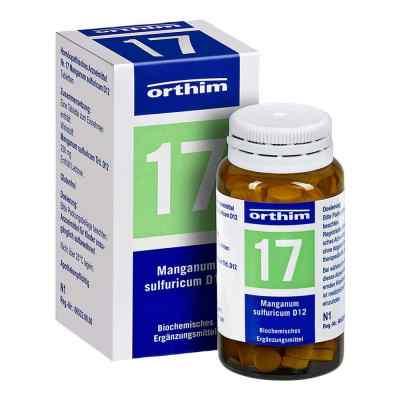 Biochemie Orthim 17 Manganum sulfuricum D 12 Tabletten   zamów na apo-discounter.pl