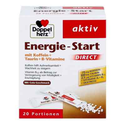 Doppelherz Energie-Start Direct mikrogranulki