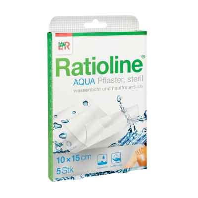Ratioline aqua Duschpflaster Plus 10x15cm steril  zamów na apo-discounter.pl