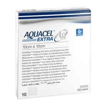 Aquacel Ag Extra 10x10cm Kompressen  zamów na apo-discounter.pl