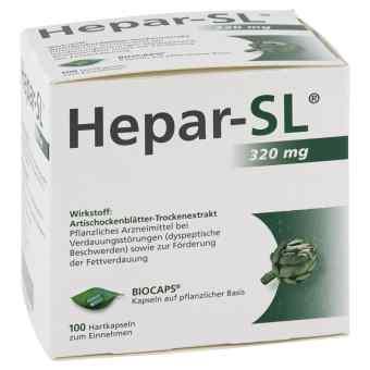 Hepar Sl 320 mg kapsułki twarde  zamów na apo-discounter.pl
