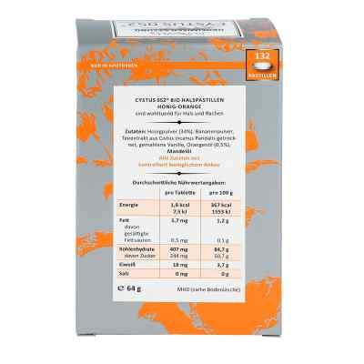 Cystus 052 Bio pastylki na gardło miodowo-pomarańczowe  zamów na apo-discounter.pl
