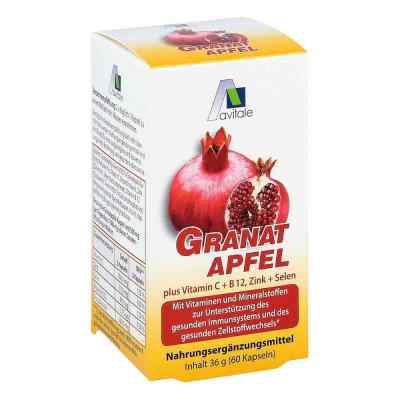 Granat 500 mg + witamina C, B12 + cynk + selen kapsułki  zamów na apo-discounter.pl