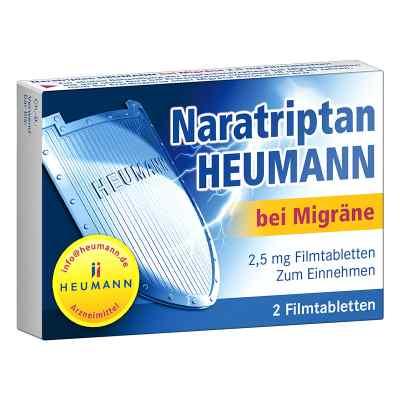 Naratriptan Heumann bei Migraene 2,5 mg Filmtabletten