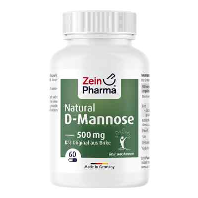 Natural D-Mannose 500 mg kapsułki  zamów na apo-discounter.pl