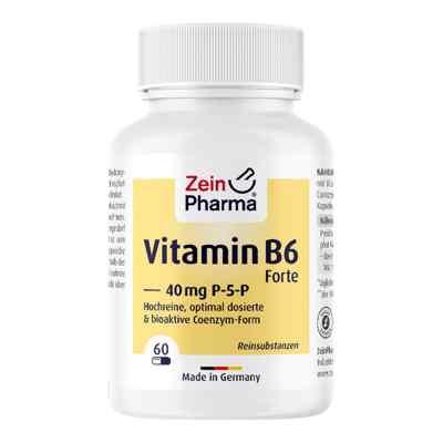 Witamina B6 forte P-5-P kapsułki 60 szt. od Zein Pharma - Germany GmbH PZN 09612348