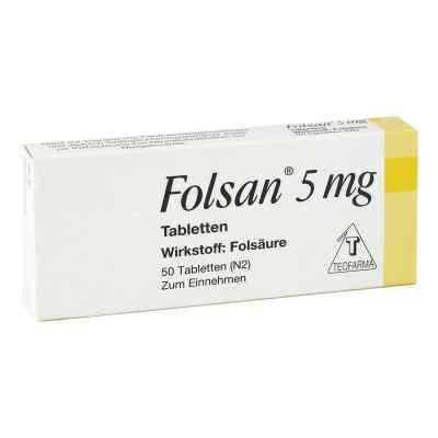 Folsan 5 mg Tabletten  zamów na apo-discounter.pl
