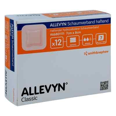 Allevyn Schaumverband haftend 7x8cm  zamów na apo-discounter.pl