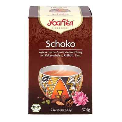 Yogi Tea Schoko herbata z łupin nasion kakaowca  zamów na apo-discounter.pl
