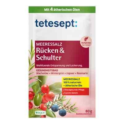 Tetesept Meeressalz Ruecken & Schulter