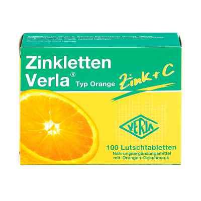 Zinkletten Verla Orange Lutschtabletten  zamów na apo-discounter.pl