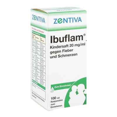 Ibuflam Kindersaft 2% gegen Fieber und Schmerzen Suspension
