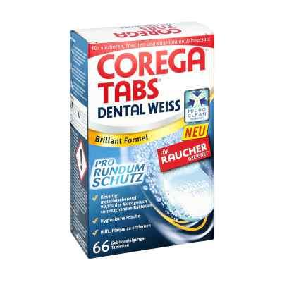 Corega Tabs Dental weiss Tabletten fuer Raucher