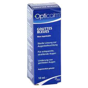 Opticalm Gouttes Bleues krople do oczu