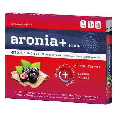 Aronia+ Immun, ampułki do picia  zamów na apo-discounter.pl