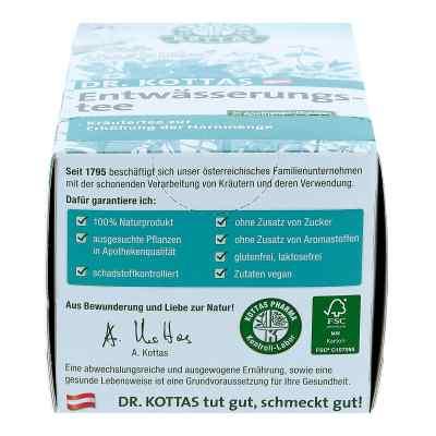 Dr. Kottas herbata wspomagająca drenaż płynów saszetki  zamów na apo-discounter.pl