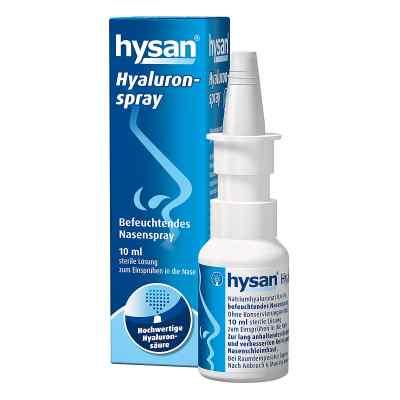 Hysan Hyaluron spray do nosa   zamów na apo-discounter.pl