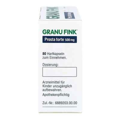 Granu Fink Prosta forte 500 mg Hartkapseln  zamów na apo-discounter.pl
