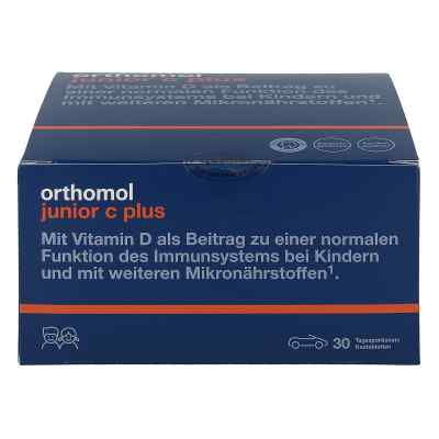 Orthomol Junior C plus tabletki do żucia owoce leśne  zamów na apo-discounter.pl