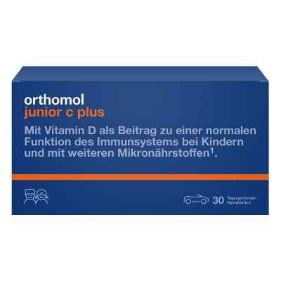 Orthomol Junior C plus tabletki do żucia mandarynka/pomarańcza  zamów na apo-discounter.pl