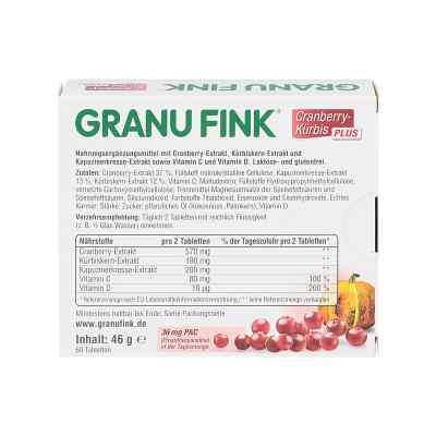 Granu Fink żórawina+pestki dyni tabletki  zamów na apo-discounter.pl