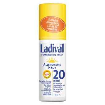 Ladiva Skóra Alergiczna spray przeciwsłoneczny SPF 20