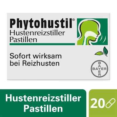Phytohustil tabletki do ssania uśmierzające kaszel  zamów na apo-discounter.pl