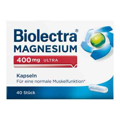 Biolectra Magnesium 400 mg ultra Kapseln  zamów na apo-discounter.pl