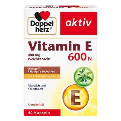Doppelherz Vitamin E 600 N Kapseln  zamów na apo-discounter.pl