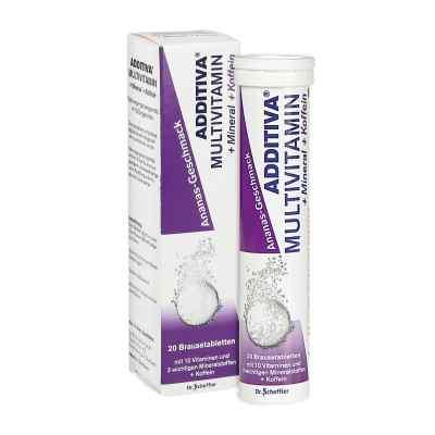 Additiva multiwitamina + kofeina tabeltki musujące  zamów na apo-discounter.pl