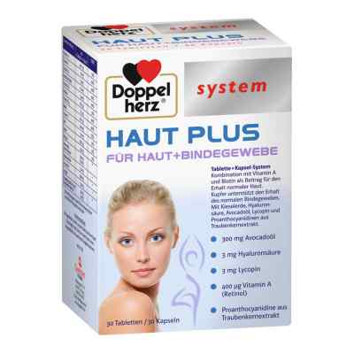 Doppelherz Haut Plus piękna skóra tabletki +kapsułki  zamów na apo-discounter.pl