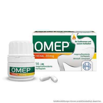 Omep Hexal 20 mg magensaftresistente Hartkapseln  zamów na apo-discounter.pl