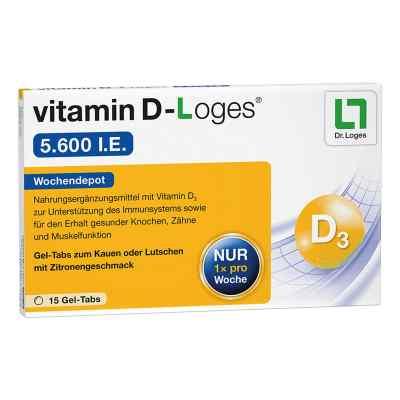 Witamina D-loges 5.600 I.e. tabletki do żucia