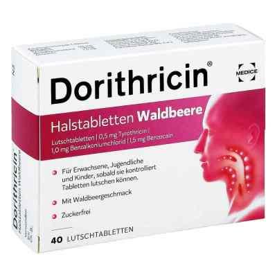Dorithricin tabletki na gardło o smaku dzikiej jagody  zamów na apo-discounter.pl
