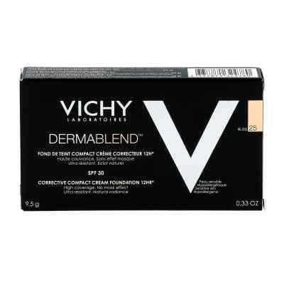 Vichy Dermablend kremowy podkład w kompakcie Nr 25  zamów na apo-discounter.pl
