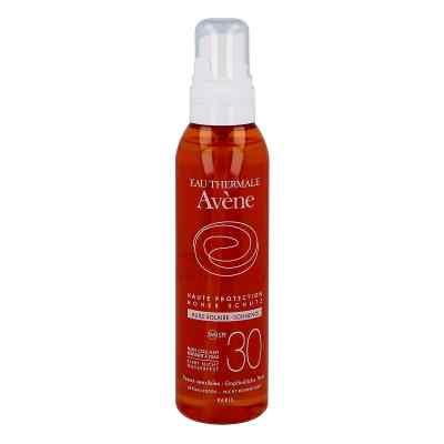 Avene Sunsitive olejek przeciwsłoneczny do ciała Spf 30