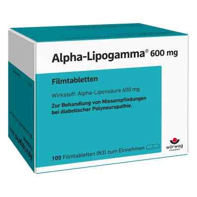 Alpha Lipogamma 600 mg Filmtabletten  zamów na apo-discounter.pl
