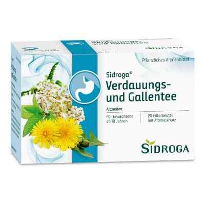 Sidroga Verdauungs- und Gallentee Filterbeutel  zamów na apo-discounter.pl