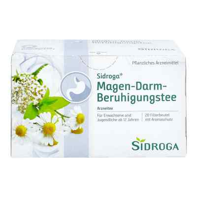 Sidroga Magen-darm-beruhigungstee Filterbeutel