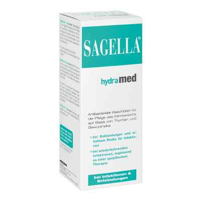 Sagella hydramed Intim balsam do mycia
