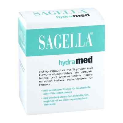 Sagella hydramed chusteczki do higieny intymnej