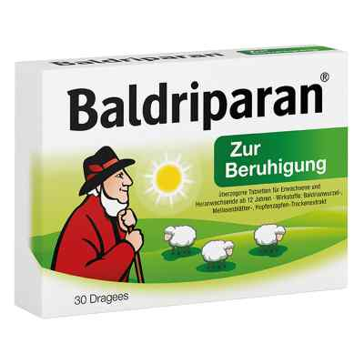 Baldriparan tabletki na uspokojenie  zamów na apo-discounter.pl